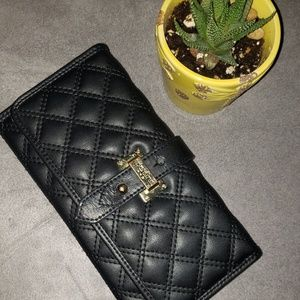 Exquisite Spartina black leather wallet